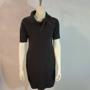 Calvin Klein gray charcoal dress